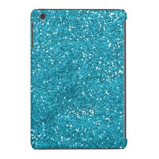 Brilho à moda do azul de turquesa capa para iPad mini retina