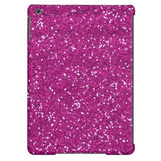 Brilho à moda do rosa quente capa para iPad air