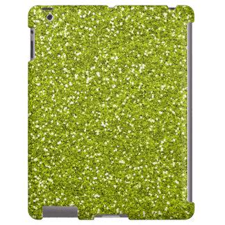 Brilho à moda do verde limão capa para iPad