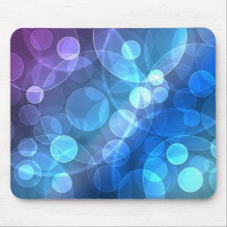 brilho azul mouse pad