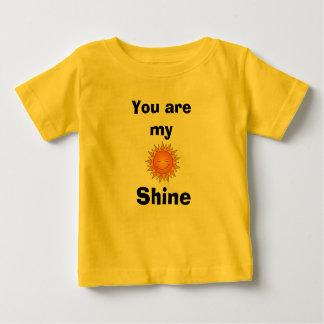 Brilho Camiseta Para Bebê