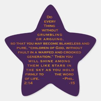Brilho como etiquetas da estrela das estrelas adesito estrela