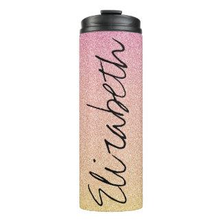 Brilho cor-de-rosa Ombre da limonada