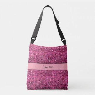 Brilho cor-de-rosa Sparkly Bolsas Carteiro