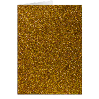 Brilho do ouro cartões