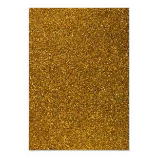 Brilho do ouro convite personalizado