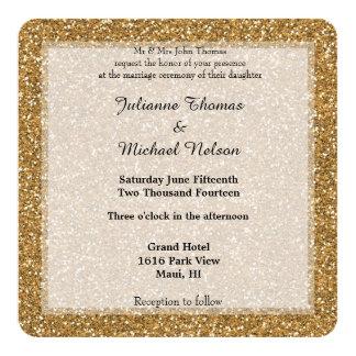 Brilho do ouro convite