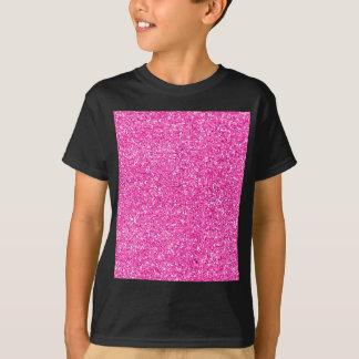 Brilho do rosa quente tshirt