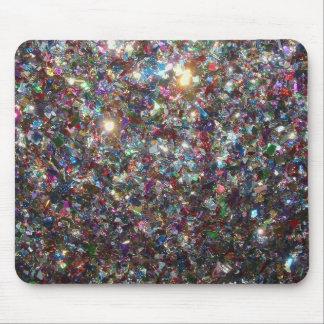 Brilho dos confetes mouse pad