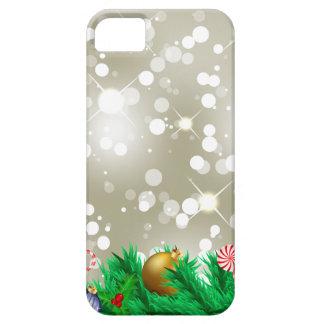 Brilho dos enfeites de natal capa barely there para iPhone 5