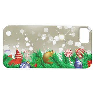 Brilho dos enfeites de natal capas para iPhone 5