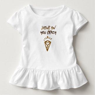 Brilho em você diamante louco camiseta infantil