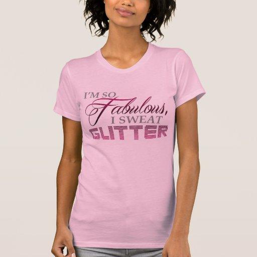 Brilho fabuloso t-shirt