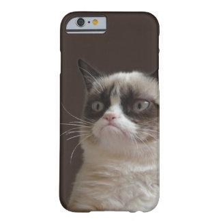 Brilho mal-humorado do gato capa barely there para iPhone 6
