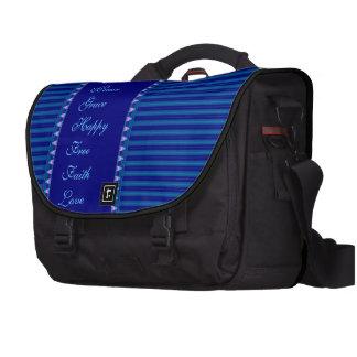 Brilho no saco do laptop da viagem ao trabalho pasta para laptop