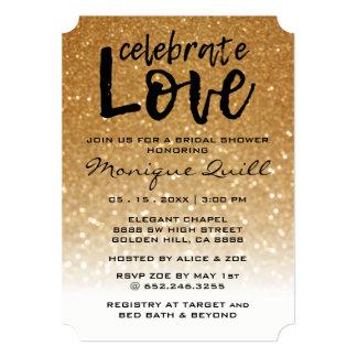 Brilho original & convite Wedding das setas do