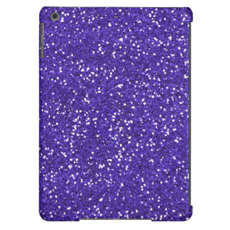 Brilho roxo à moda capa para iPad air