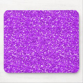 Brilho roxo brilhante do Shimmer Mouse Pad