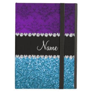 Brilho roxo conhecido personalizado dos azul-céu