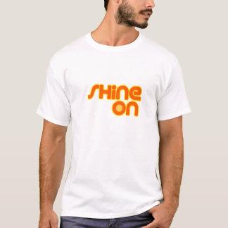 Brilho sobre camiseta