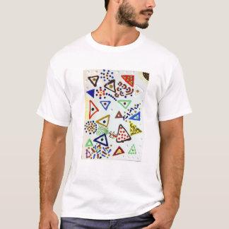 Brincalhão, colorido, astuto, camisa do