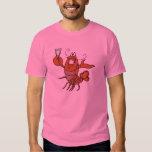 brindando a lagosta tshirts
