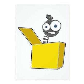 Brinquedo de Jack in the Box Convite