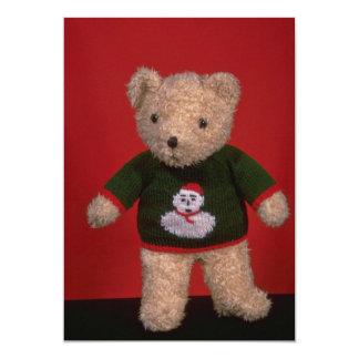Brinquedo do urso de ursinho para miúdos convite