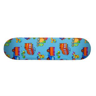 Brinquedos - caminhões & trens vermelhos da shape de skate 18,7cm