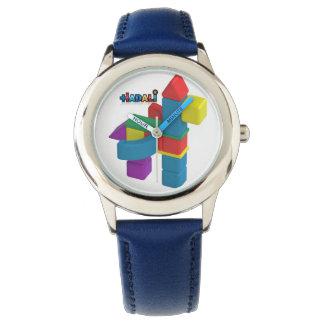 Brinquedos de Hadali - o relógio de aço inoxidável
