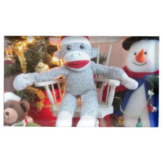 Brinquedos do Natal Suportes Para Cartao De Mesa