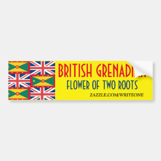 BRITISH-GRENADIAN ADESIVO PARA CARRO
