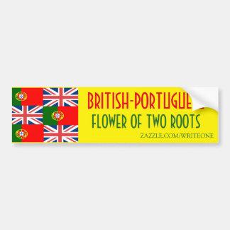 BRITISH-PORTUGUESE ADESIVO PARA CARRO