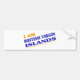 BRITISH VIRGIN ISLANDS ADESIVOS