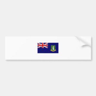 British Virgin Islands EMBANDEIRAM o International Adesivos