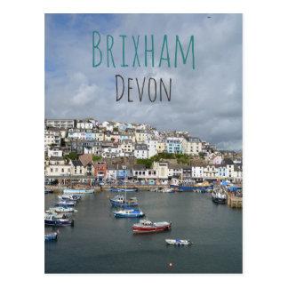 Brixham, cartão de Devon