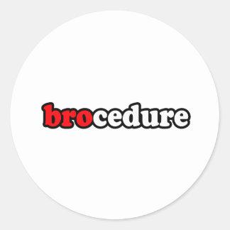 BROCEDURE ADESIVOS EM FORMATO REDONDOS