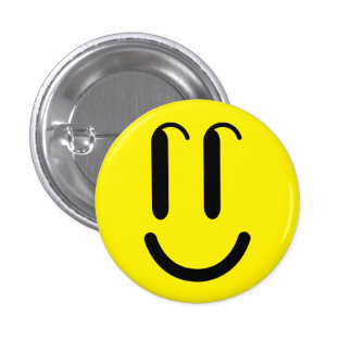 "Broche ""SMILE"", Botão redondo Bóton Redondo 2.54cm"