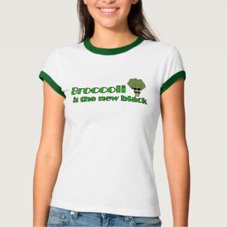 Brócolos - camisa engraçada do Vegan T
