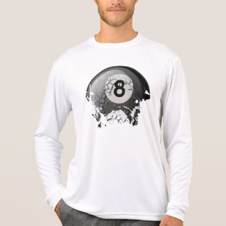 Broken and Cracked 8 Ball T Shirts