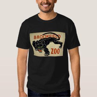 Brookfield Jardim-Pantera-afligiu Camisetas