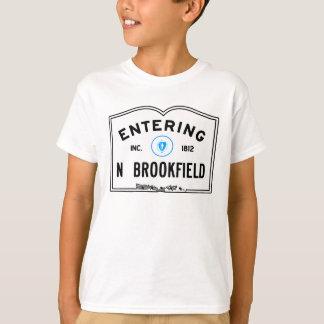 Brookfield norte entrando tshirt