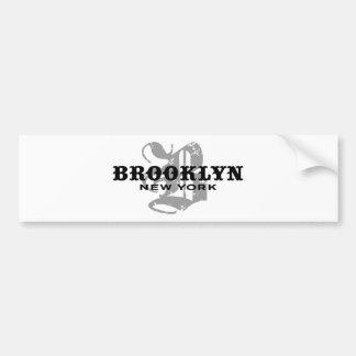 Brooklyn NY Adesivo Para Carro