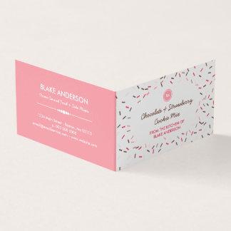 Brown cor-de-rosa polvilha a mistura caseiro do