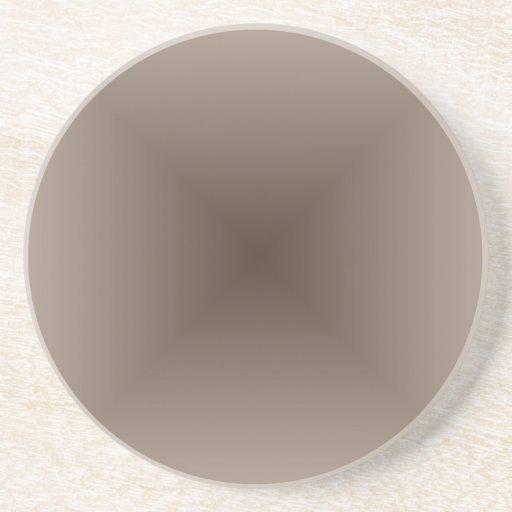 Brown marrom e escuro do inclinação quadrado - luz porta copo