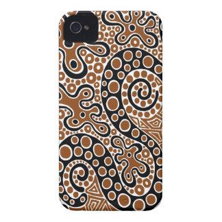 Brown Splats Capinhas iPhone 4