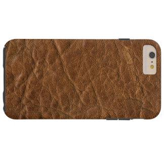 Brown Tanned o fundo de couro da textura Capas iPhone 6 Plus Tough