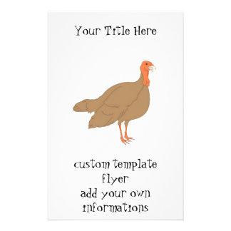 Brown Turquia Panfleto