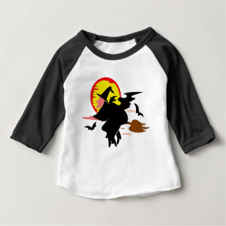 Bruxa Camiseta Para Bebê