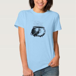 Bruxa da cozinha - bolha da bolha camiseta